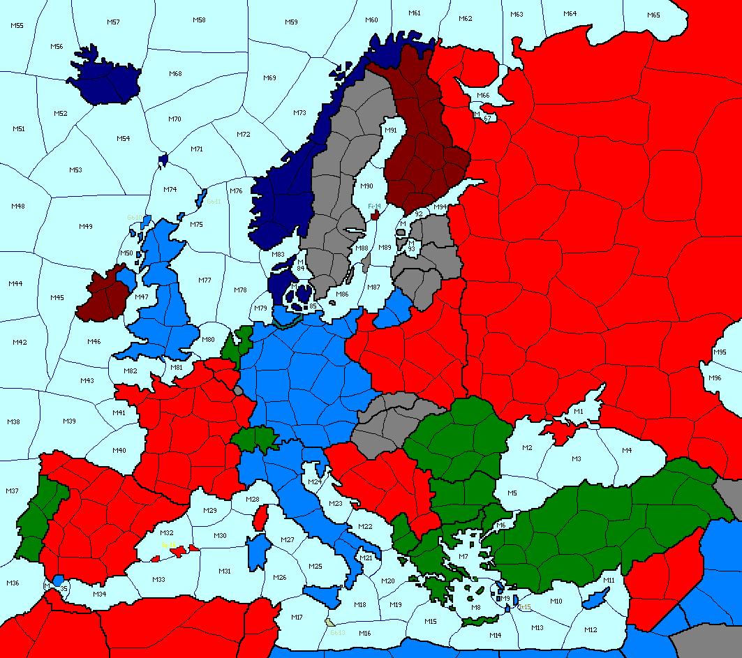 Начална карта